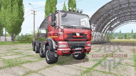 Tatra Phoenix T158 8x8-6 hooklift camo for Farming Simulator 2017
