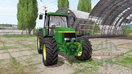 John Deere 6610 for Farming Simulator 2017