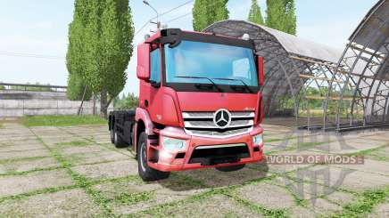 Mercedes-Benz Antos 2540 hooklift for Farming Simulator 2017