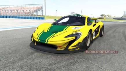McLaren P1 GTR for BeamNG Drive