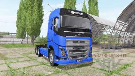 Volvo FH16 6x6 v1.2 for Farming Simulator 2017