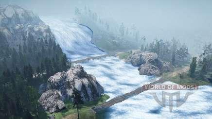 Waterfall for MudRunner