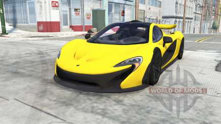 McLaren P1 for BeamNG Drive