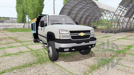 Chevrolet Silverado 2500 HD Crew Cab dump v2.0 for Farming Simulator 2017