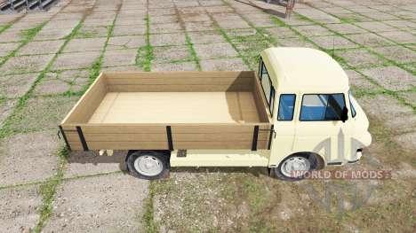 Barkas B1000 pritschenwagen for Farming Simulator 2017