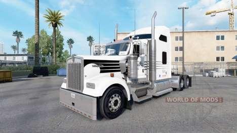 Skin Hunt Trucking for truck Kenworth W900 for American Truck Simulator