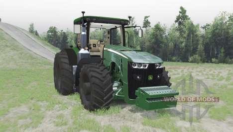 John Deere 8370R for Spin Tires