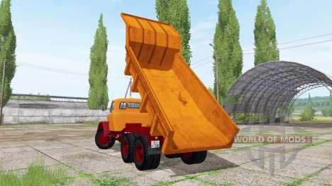 Magirus-Deutz 200 D 26 dump truck for Farming Simulator 2017