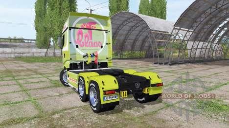 Scania R700 Evo CLAAS for Farming Simulator 2017