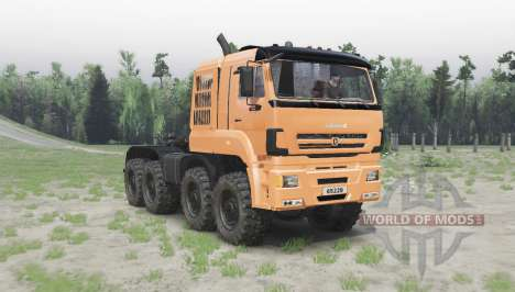 KAMAZ 65228 for Spin Tires