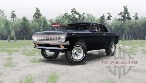 GAZ 24 Volga coupe for Spin Tires