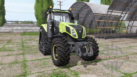 New Holland T8.435 tuning v1.3 for Farming Simulator 2017