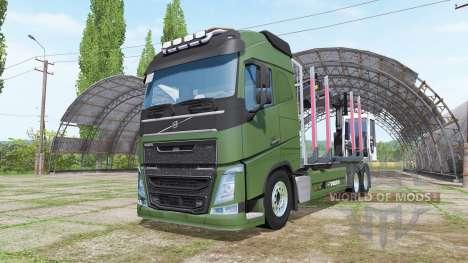 Volvo FH forest for Farming Simulator 2017
