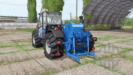 New Holland LM 7.42 bigger wheels for Farming Simulator 2017