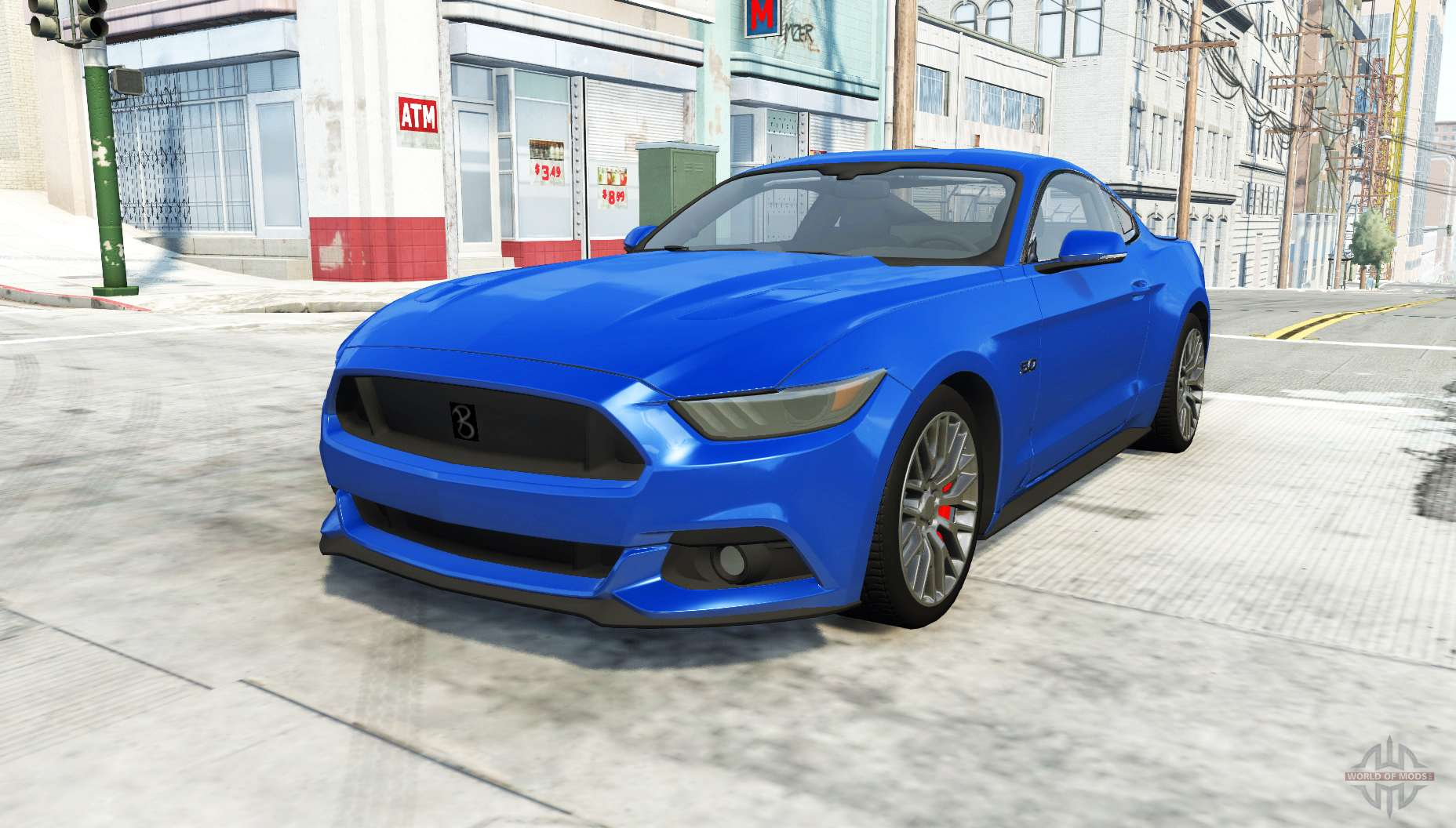 ford mustang gt 2015 for beamng drive. Black Bedroom Furniture Sets. Home Design Ideas