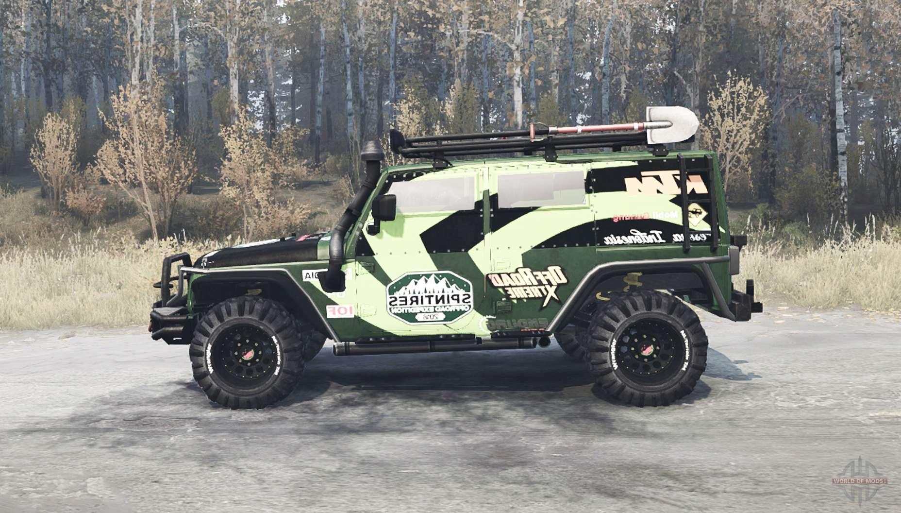 Jeep Wrangler JK sel for MudRunner