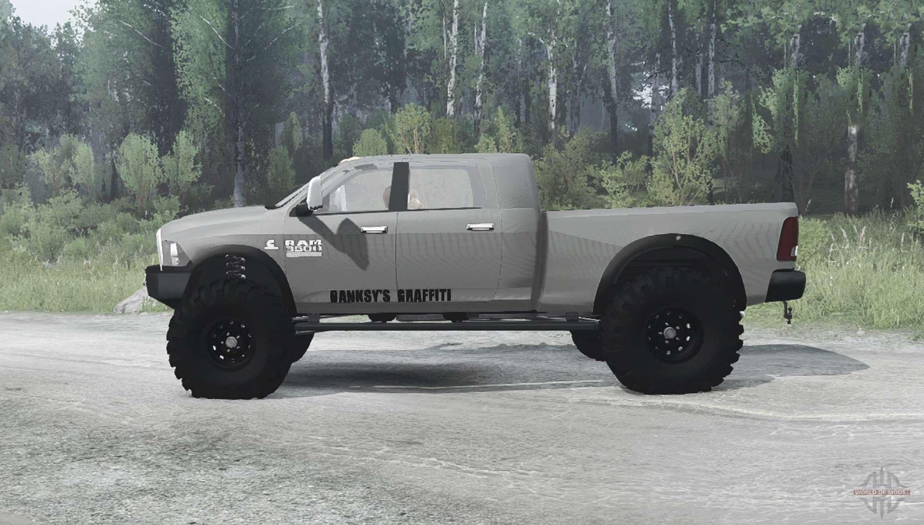 Dodge Ram 3500 Crew Cab 2013 for MudRunner