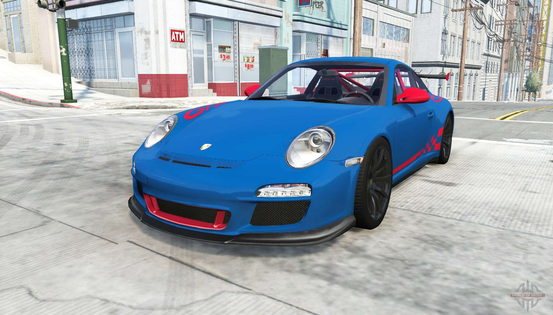 Porsche 911 GT3 RS (997) 2009 for BeamNG Drive