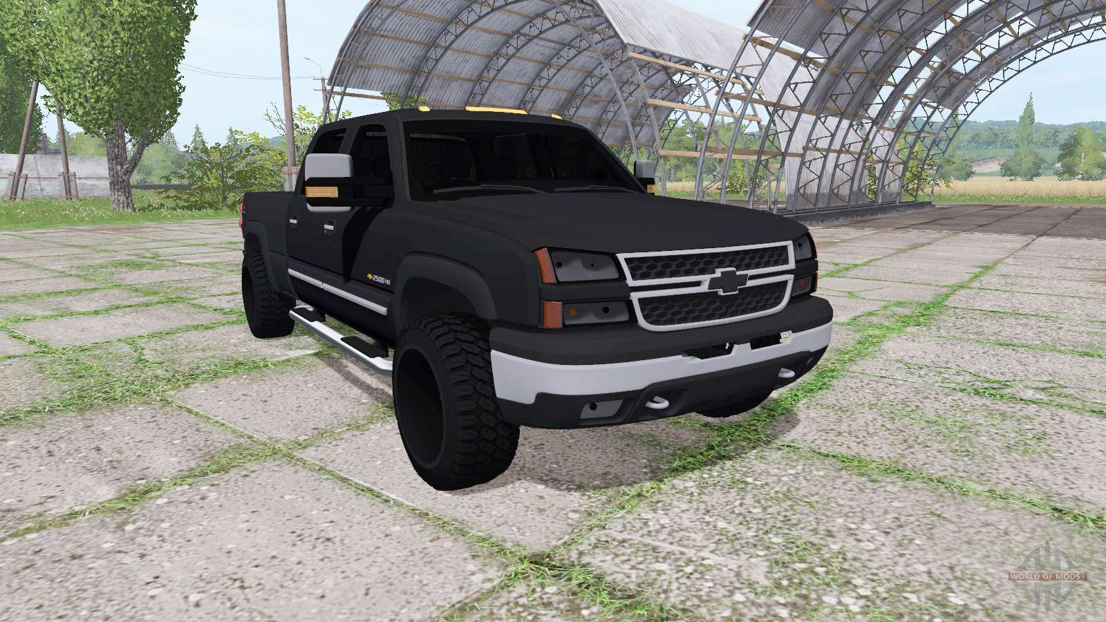 chevrolet silverado 2500 hd crew cab for farming simulator 2017. Black Bedroom Furniture Sets. Home Design Ideas