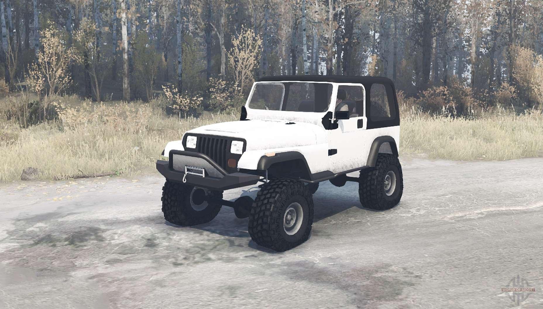 Jeep Wrangler  Yj  For Mudrunner