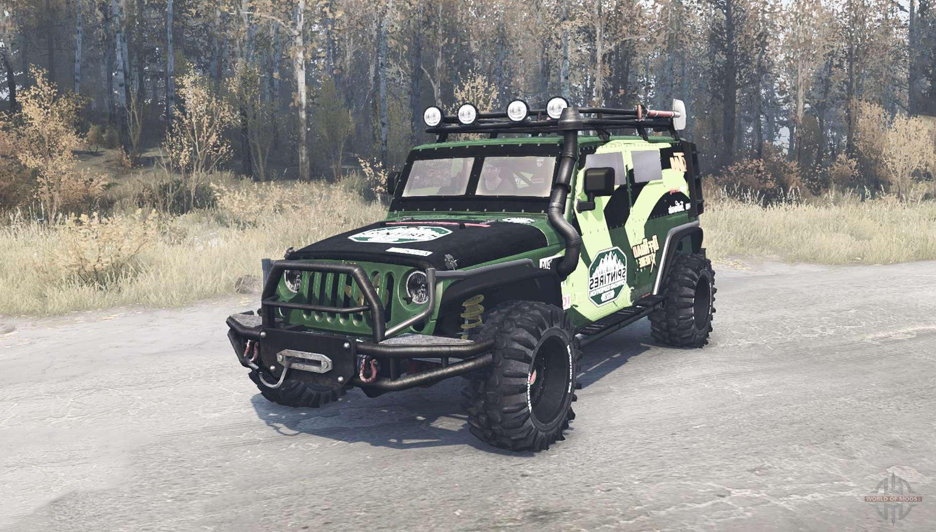 jeep wrangler jk diesel for mudrunner. Black Bedroom Furniture Sets. Home Design Ideas