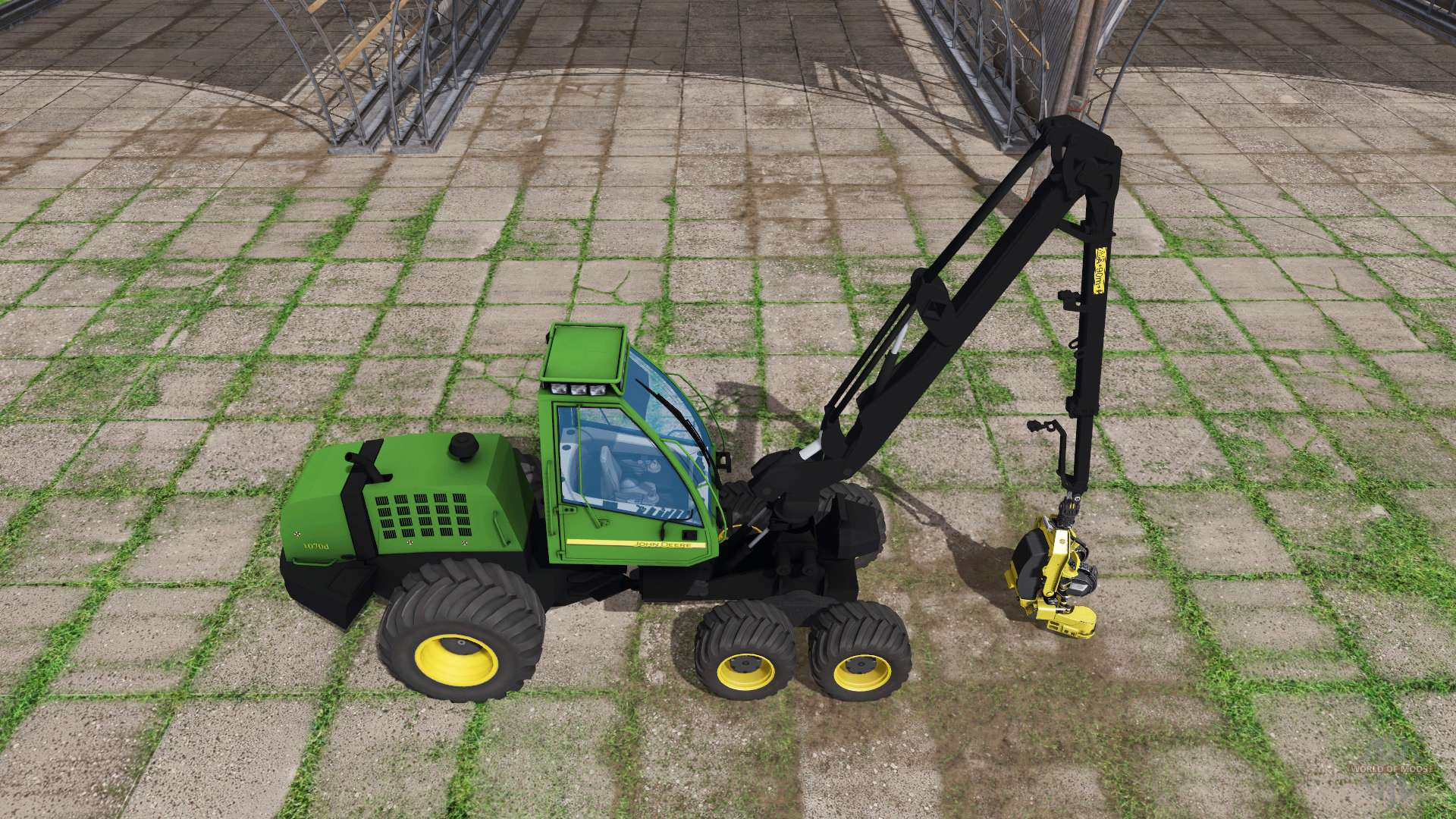 John Deere 4445 : John deere d for farming simulator