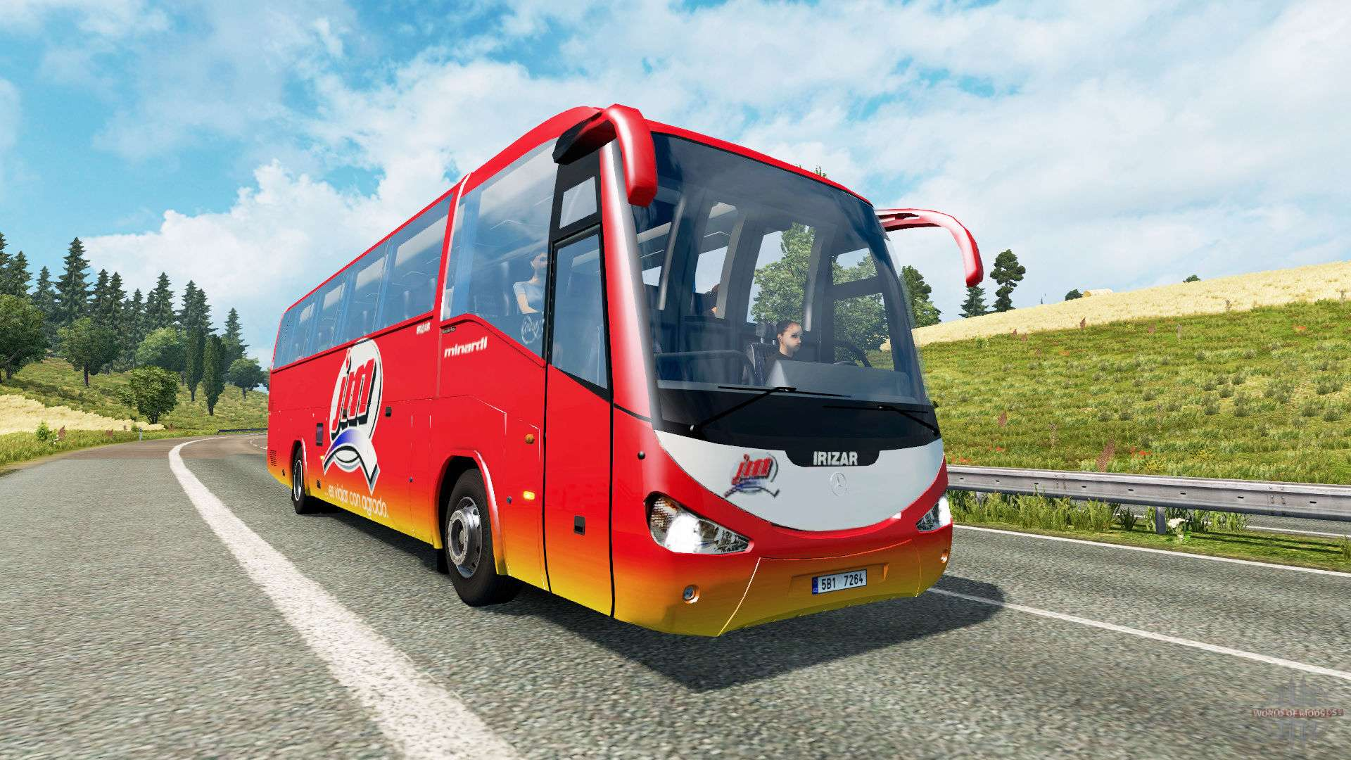 bus traffic v1 9 for euro truck simulator 2. Black Bedroom Furniture Sets. Home Design Ideas