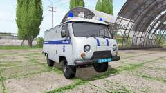 UAZ 3909 Police for Farming Simulator 2017