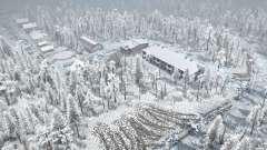 Forest game 3 - Winter season for MudRunner
