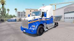 Skin ATM on the truck Kenworth T800