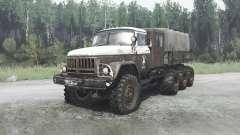 ZIL 131 8x8 v1.1 for MudRunner