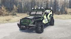 Jeep Wrangler (JK) diesel for MudRunner