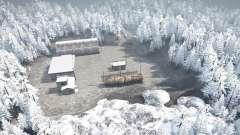 Winter road for MudRunner