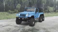 Jeep Wrangler (JK) 6x6 crawler for MudRunner