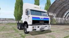 KAMAZ 54115 v4.5 for Farming Simulator 2017