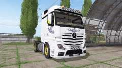 Mercedes-Benz Actros LS (MP4) for Farming Simulator 2017