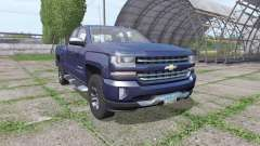 Chevrolet Silverado LTZ Z71 Double Cab (GMTK2) for Farming Simulator 2017