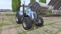 New Holland TG285 v1.0.1 for Farming Simulator 2017