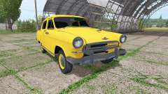 GAZ 21 Volga taxi for Farming Simulator 2017