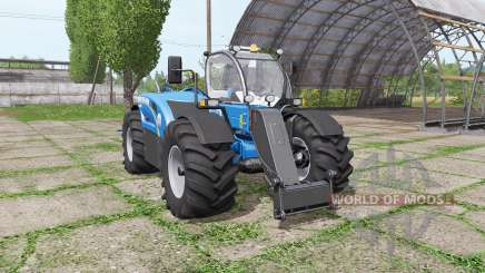 New Holland LM 7.42 bigger wheels for Farming Simulator 2017