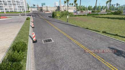 Realistic Roads for American Truck Simulator