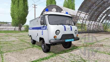 UAZ 3909 Police for Farming Simulator 2017