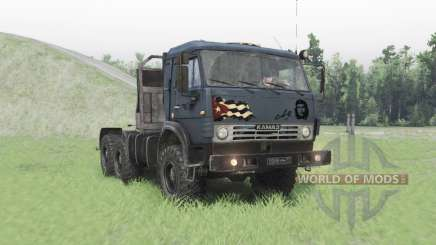 KamAZ-53504 for Spin Tires