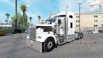 Skin Hunt Trucking for truck Kenworth W900 for American Truck Simulator