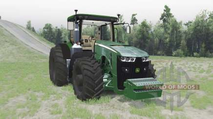 John Deere 8370R for Spin Tires