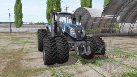 New Holland T8.435 tuning v1.2 for Farming Simulator 2017