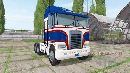 Kenworth K100 1978 v1.1 for Farming Simulator 2017