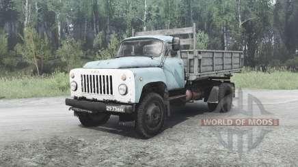 GAZ 53 for MudRunner