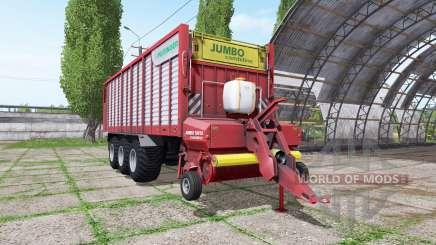 POTTINGER JUMBO 10010 combiline for Farming Simulator 2017