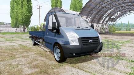 Ford Transit pickup 2006 v2.0 for Farming Simulator 2017